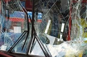 Авария под Петербургом: автобус столкнулся с иномаркой