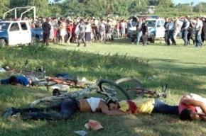 Кровавая расправа на футбольном поле: в Гондурасе бандиты расстреляли болельщиков