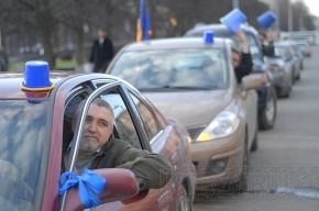 «Синие ведерки» будут предупреждать о засадах ГИБДД