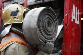 В Москве 9 человек пострадали при крупном пожаре