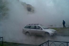 Из-за аварии на Кузнецовской улице пришлось померзнуть