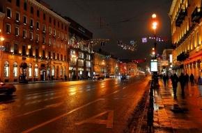 Невский проспект окрасится в парадный императорский цвет