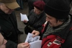 Как петербуржцы митинговали у Грибоедова и на Малой Садовой: Фоторепортаж