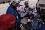 У хоккеистов СКА закончились выходные: Фоторепортаж