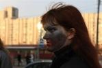 Фоторепортаж: «Силы зла отметили Хеллоуин флешмобом у «Приморской»»