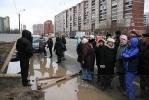 Фоторепортаж: «Жители Комендантского проспекта против «стекляшки» под окнами»