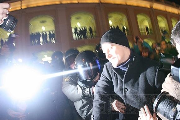 Петербургский оппозиционер арестован почти на месяц: Фото