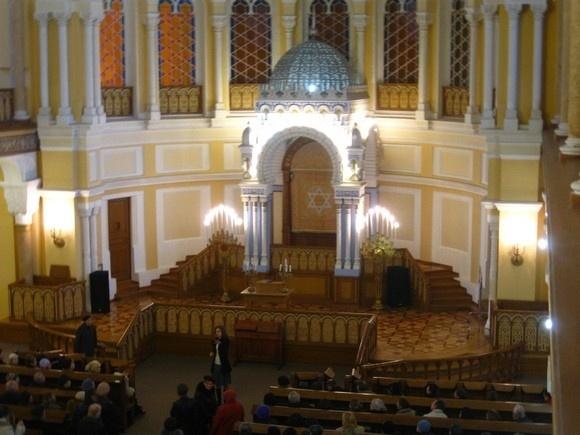 В синагоге прошел день открытых дверей: Фото