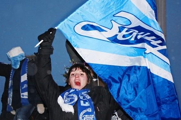 Победу «Зенита» отпраздновали с размахом (фоторепортаж): Фото