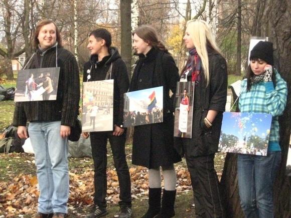 Как в Петровском парке фашизму культурой отвечали: Фото