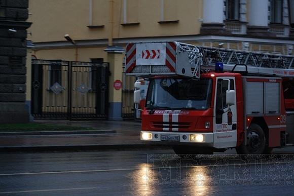Пожар в кадетском корпусе локализован: Фото