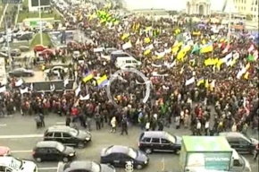 В день Оранжевой революции на Майдане снова многотысячный митинг
