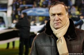 На матче «Зенит» – ЦСКА Адвокаат будет выбирать кандидатов в сборную