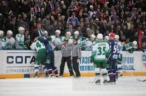 СКА с футбольным счётом выиграл в Екатеринбурге