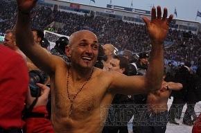 Лучано Спаллетти: «Матч с «Крыльями» играла не только команда, но и обнявшись, весь стадион»