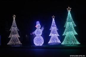 Завтра в Петербурге зажгутся первые елки