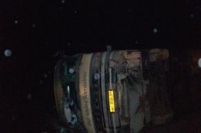 В Башкирии перевернулся автобус, 8 пострадали