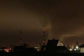 Пилотов, пролетающих мимо «Северной» ТЭЦ, в темноте ждет труба