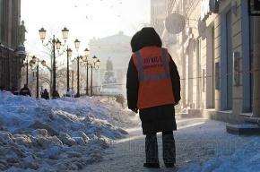 Из-за гололеда пострадали 19 петербуржцев