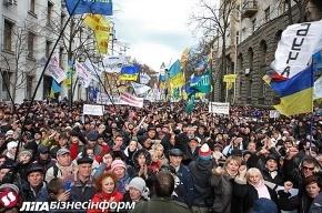 Украинские предприниматели в борьбе против Налогового кодекса намерены идти до конца