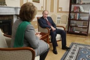 Путин намекнул Матвиенко на плохое качество КАД