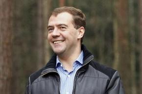 Медведев из-за подготовки к посланию не поужинал