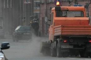 На улицах Петербурга появились «пылеразгонятели»