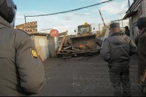 Петербургские гаражники пикетируют Смольный