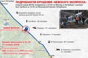 Годовщина трагедии «Невского экспресса»: в 21.34 все локомотивы подадут звуковой сигнал