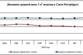 Обзор рынка новостроек Петербурга в октябре