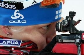 Стартовую гонку биатлонисток покажет «Россия 2»