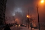 Авария на проспекте Энгельса: «Просвета» было не видно: Фоторепортаж