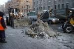 И еще немного про уборку снега в Петербурге: Фоторепортаж