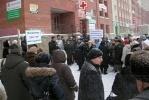 На Комендантском проспекте прошел митинг против коррупционных магазинов: Фоторепортаж
