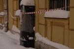 Фоторепортаж: «Петербург превратился в опасную зону. Сосульки на улицах города»