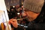 Бутусов нарисовал йод: Фоторепортаж