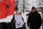 На Троицкой площади прошел пикет в защиту Григория Торбеева: Фоторепортаж