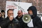 В Петербурге прошел митинг против варварской «реконструкции» памятников: Фоторепортаж