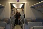 На первом поезде «Аллегро» проехал Путин (ФОТО): Фоторепортаж
