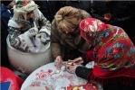 """Валентина Матвиенко изобразила """"Новогоднюю ночь"""" на рождественской ярмарке (фото): Фоторепортаж"""