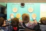Российский Дед Мороз в Музее связи: Фоторепортаж