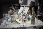 В Петербурге обнаружены дома, елки и люди из макарон: Фоторепортаж