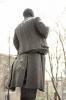 Взрыв памятника Ленину. Пушкинцы негодуют: Фоторепортаж
