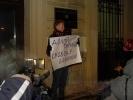Одиночный пикет у консульства Белоруссии: фото и видео: Фоторепортаж