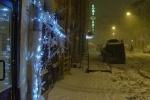 Петербург превратился в опасную зону. Сосульки на улицах города: Фоторепортаж