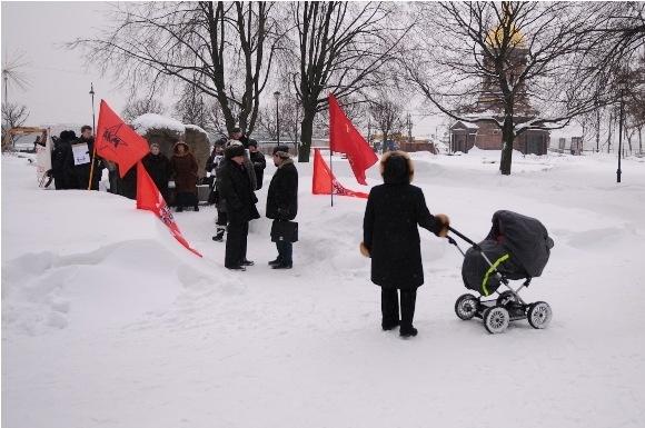 На Троицкой площади прошел пикет в защиту Григория Торбеева: Фото