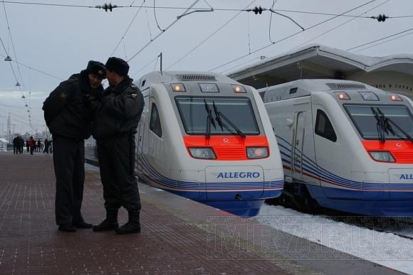 На первом поезде «Аллегро» проехал Путин (ФОТО): Фото