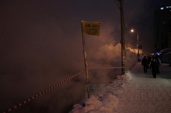 Авария на проспекте Энгельса: «Просвета» было не видно: Фото