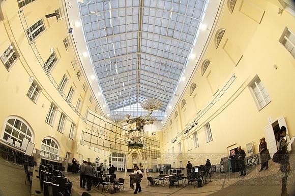 Российский Дед Мороз в Музее связи: Фото