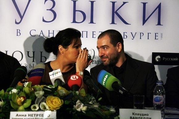 Анна Нетребко в Петербурге (фото): Фото